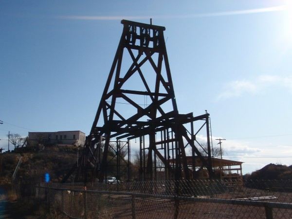 Mining lift in Jerome Arizona
