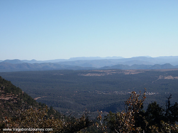 Mogollon Rim Arizona