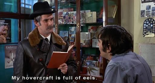 Monty Python phrasebook skit