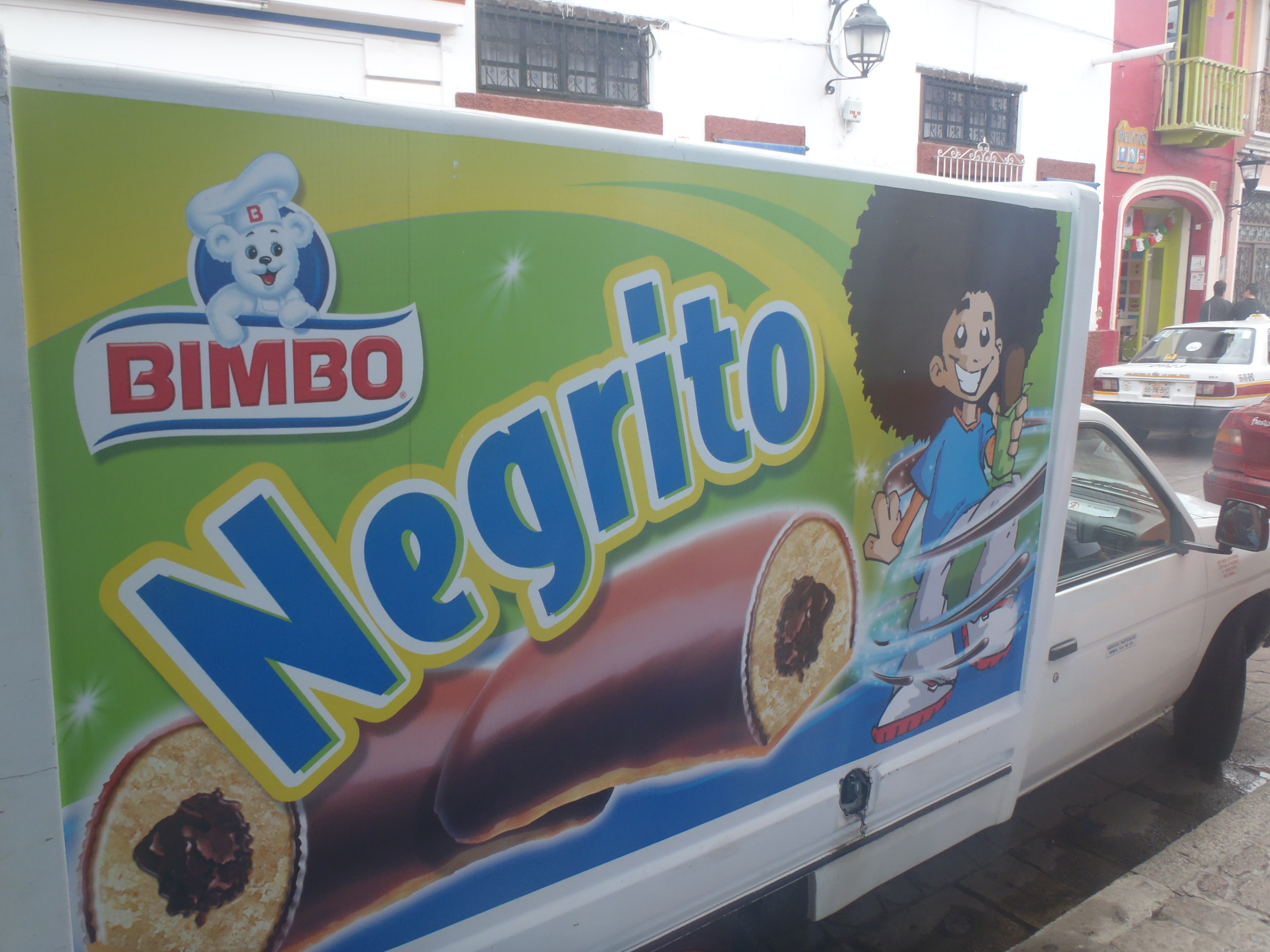 A truck selling Negrito products