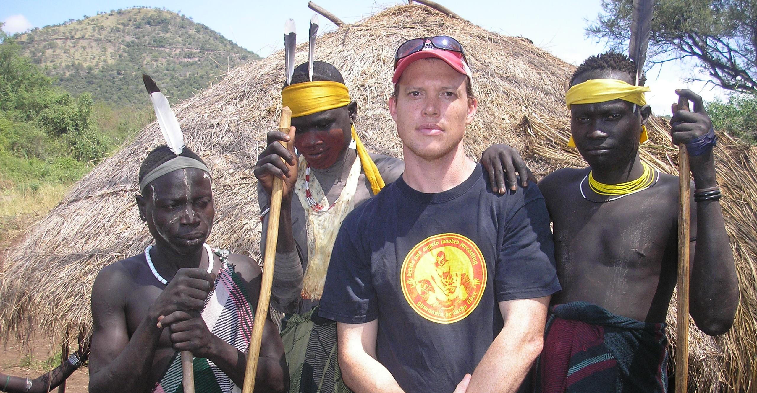 Rolf Potts in Ethiopia