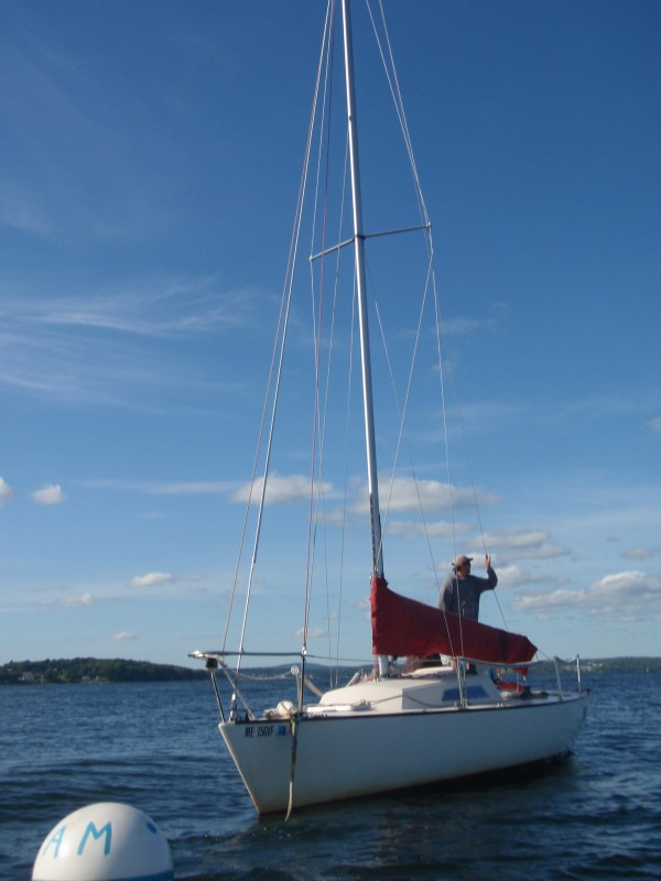 26 foot racing sailboat in maine