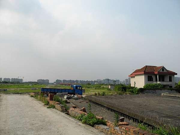 Shanghai countryside in Pujiang
