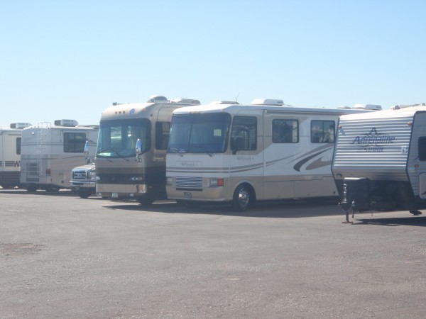 Motor homes in Arizona