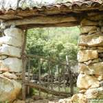Stone Doorway Countryside Colombia