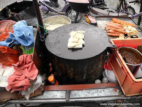 Street food stove