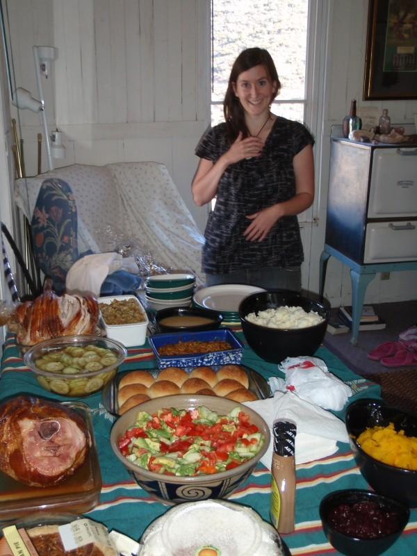 Thanksgiving in Jerome, Arizona