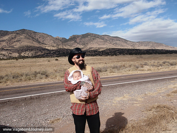 Traveling with Petra in New Mexico