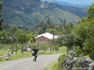 Travelers Hiking Mountains