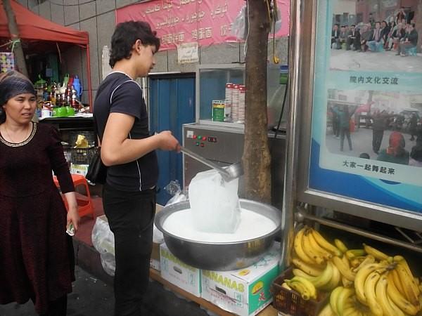 uighur ice cream maker