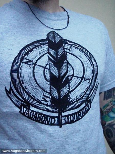 Vagabond Journey.com tshirt