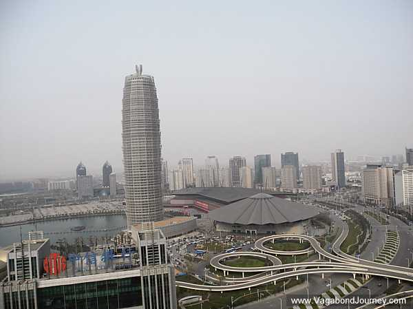 Zhengdong CBD is truly a world class financial district