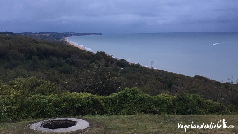 Omaha-Beach from top view
