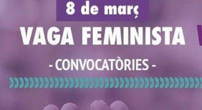 Vic 8M. Vaga feminista