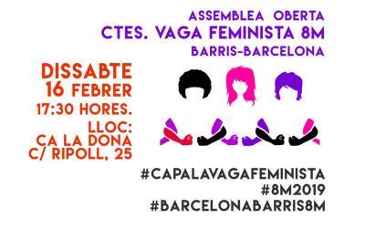 Assemblea Comités barris-Barcelona