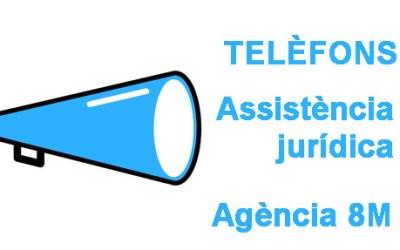 Atenció jurídica 8M i Agència 8M