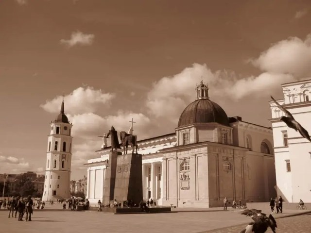 Praça da Catedral Vilnius