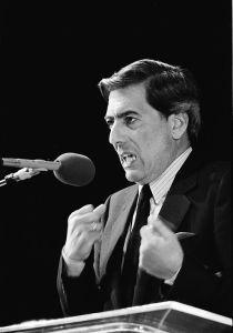 Mario Vargas Llosa, 1985.