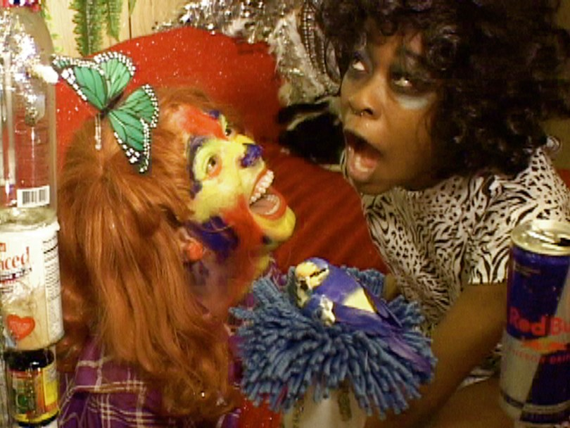 Ryan Trecartin, A Family Finds Entertainment (stillbild ur video) (2004).