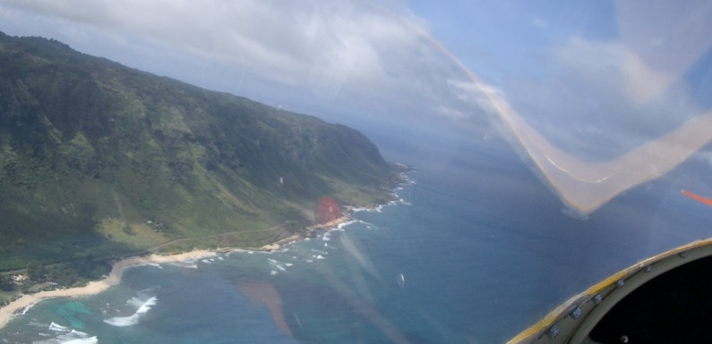 Thoughts of a Suicidal Diver – Skydiving On Oahu's North Shore