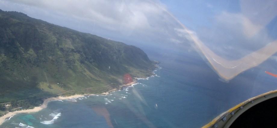 skydiving on Oahu