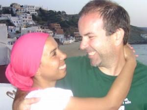 Playa Blanca is romantic in Morocco, tangiers, beach house