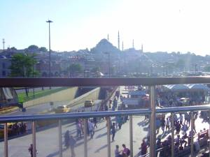 Beautiful view of Istanbul, Istanbul Ferries