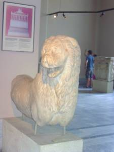 lion, Mausoleum of Halicarnassus