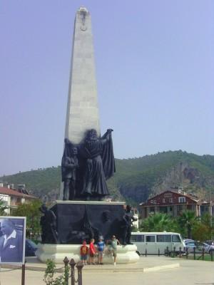 Turkey, Fethiye Monument