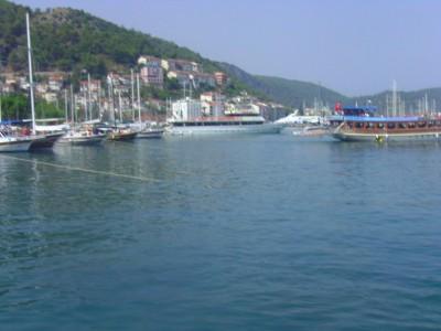 Fetiye Harbor, Mediteranean Port, Turkey