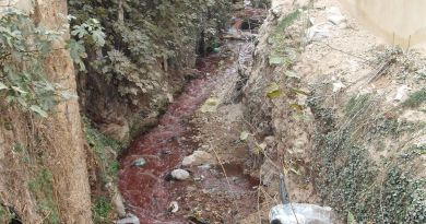 bloody river of Eid Sacrifice