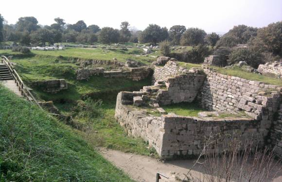 Visiting Ancient Troy – Trojan Horse and All