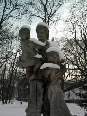 Bulgarian communist statue