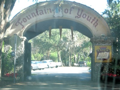 Ponce de Leon - fountain of youth