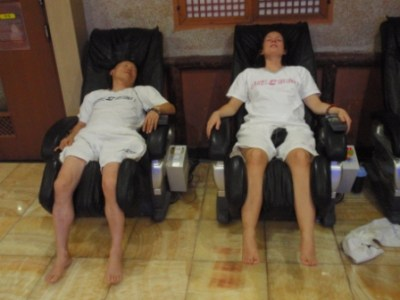 Korean Jinjabong Massage Chair