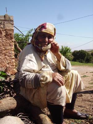 Berber old woman
