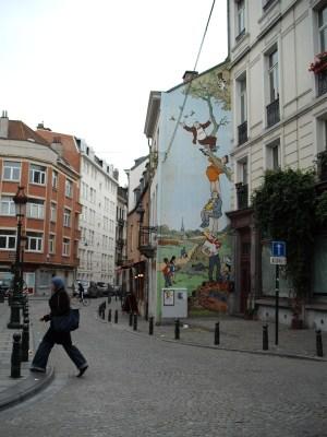 Belgian Comic Walls