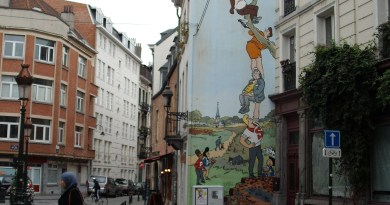 Belgian Comic Walls
