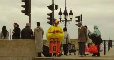 Gian chicken suit