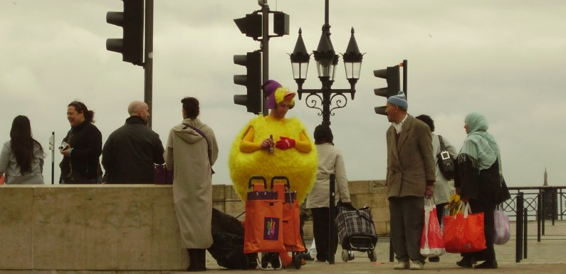 Guy Dressed As A Chicken – Have You Been Here?