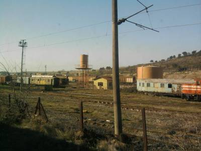turkish border train yard