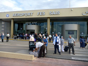 International Airport Fes, Morocco