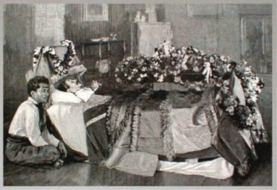 death of Robert Louis Stevenson