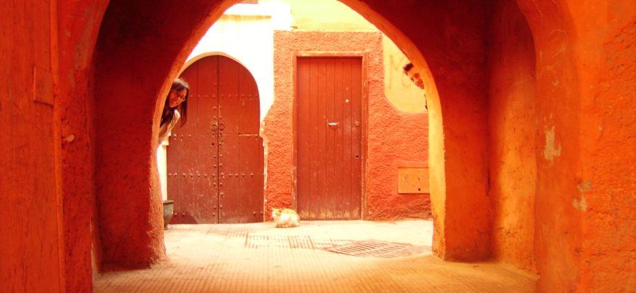 Marrakesh Door