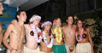 hula girls and boys