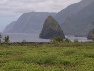 the rock of Molokai