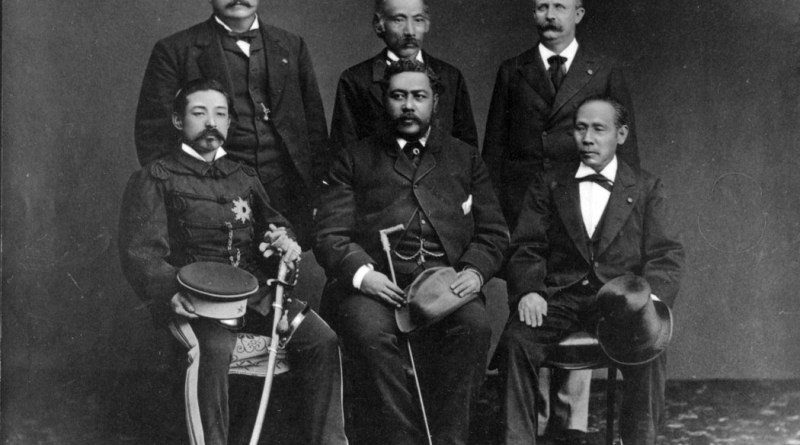Kalakaua sails to Japan