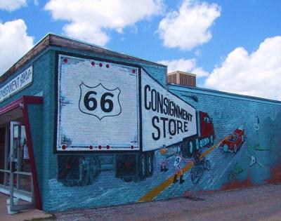 Route 66 Amarillo, Texas