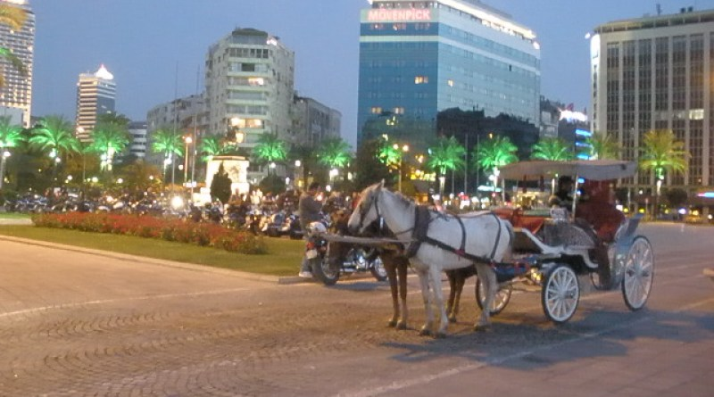 Izmir Motorbikes and a Wagon