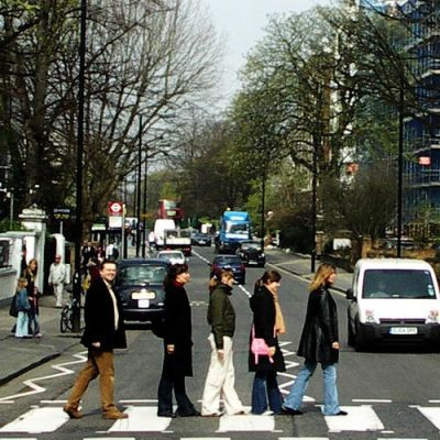Everyone wants to see Abbey Road! cc image courtesy of mcmrbt on Flickr
